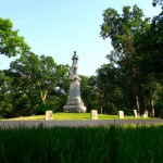 Civil War Monument and Headstones