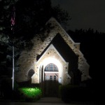Gate House at Night